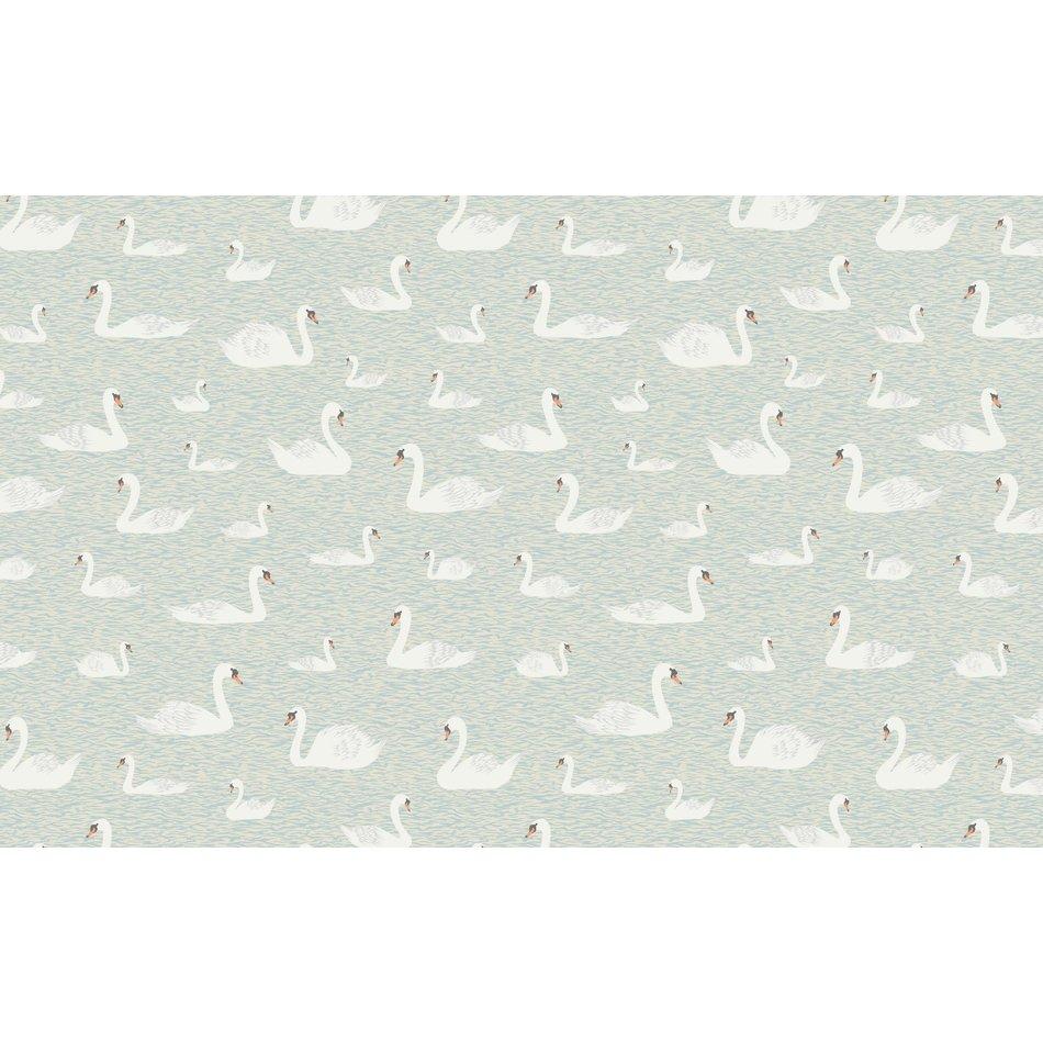 Kate Golding Tea Towel, Swans