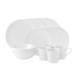 Gordon Ramsay 16pc Set Maze White