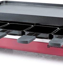 Swissmar Swissmar Classic Raclette, Cast Iron, Red