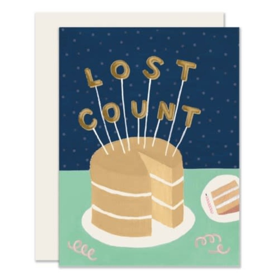 Card, Lost Count Birthday