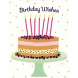 Card, Berry Cake