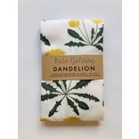 Kate Golding Tea Towel, Dandelion