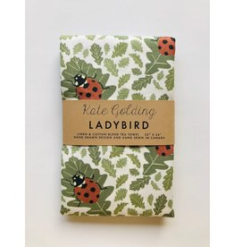 Kate Golding Tea Towel, Ladybird