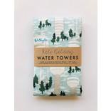 Kate Golding Tea Towel, Water Towers
