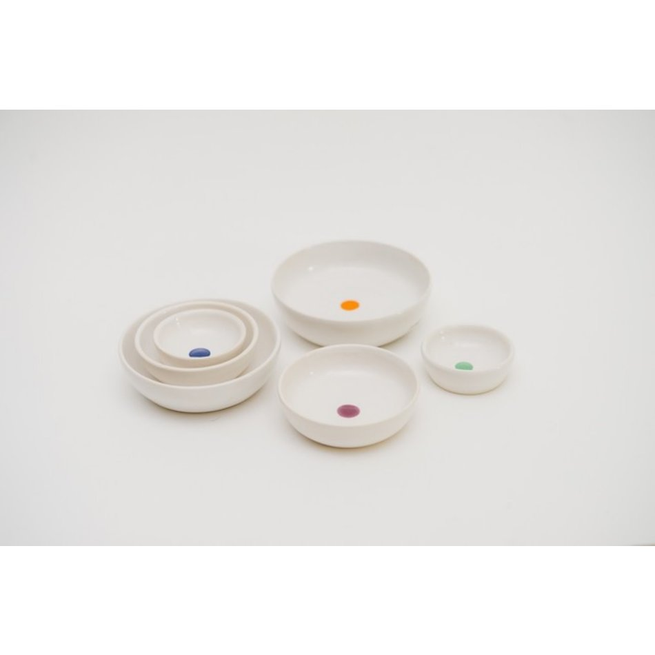 Mena Dragonfly Dots Nesting Mini Bowls, set of 3