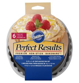 Perfect Results Round Tart/Quiche Set of 6