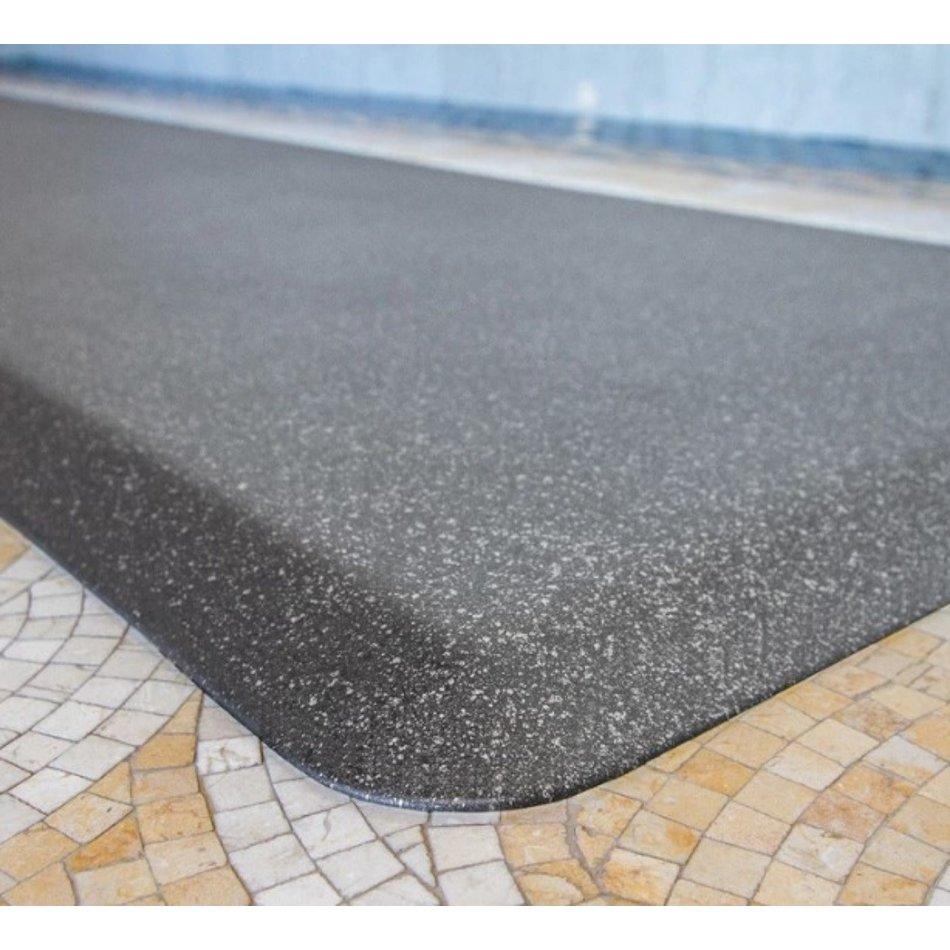 Wellness Mats Wellness Mat, Original Smooth, 6' x 2', Granite Steel