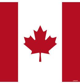 Paviot Dinner Napkin, Canadian Flag