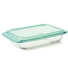 "OXO Good Grips OXO Good Grips Rectangular Baker with LId, 9""x13"", Glass"