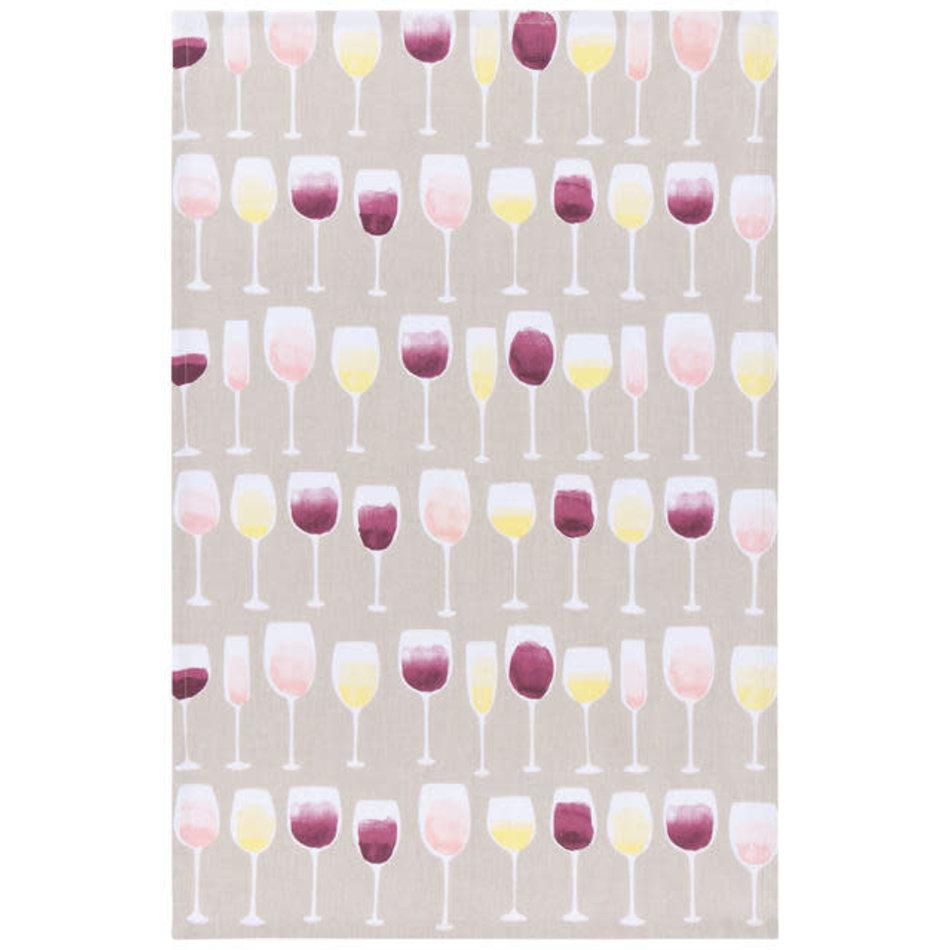 Wine Tasting Teatowel
