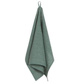 Heirloom Linen Tea Towel, Jade