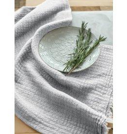 Hampton Linen Tea Towel, Grey