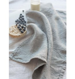 Linen Way Chateau Linen Tea Towel , Stonewashed Grey