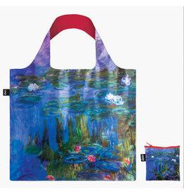 LOQI LOQI Totebag, Claude Monet - Water Lilies