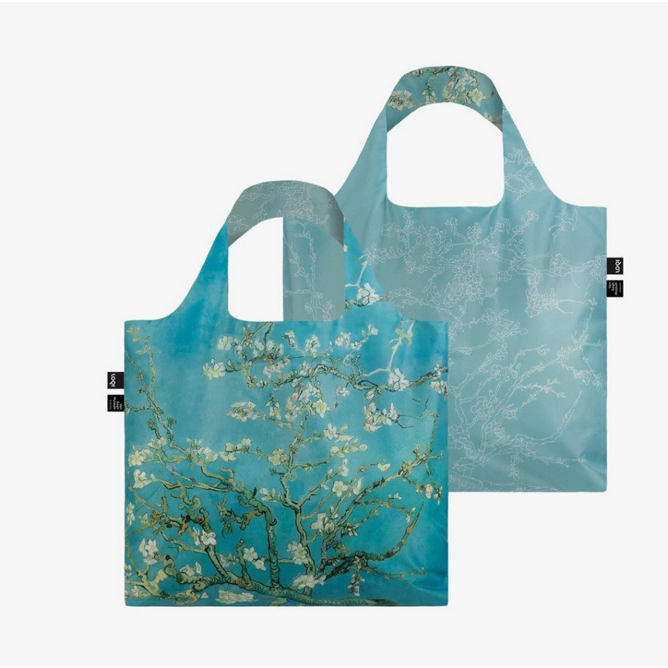 LOQI LOQI Totebag, Van Gogh - Almond Blossom