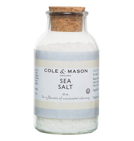 Cole & Mason Sea Salt, 20oz.