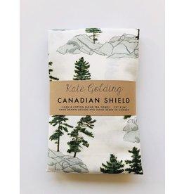 Kate Golding Kate Golding Tea Towel, Canadian Shield