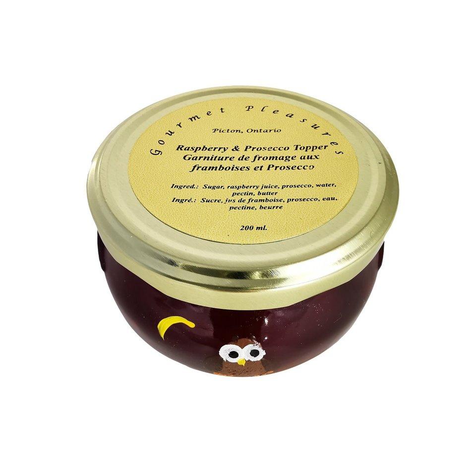 Gourmet Pleasures Preserves, Raspberry & Prosecco