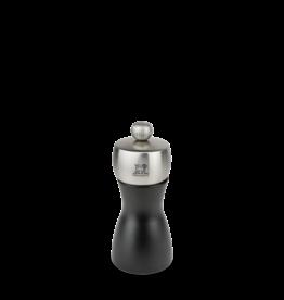 """Peugeot Fidji Matte Black Salt Mill, 4.75"""""""