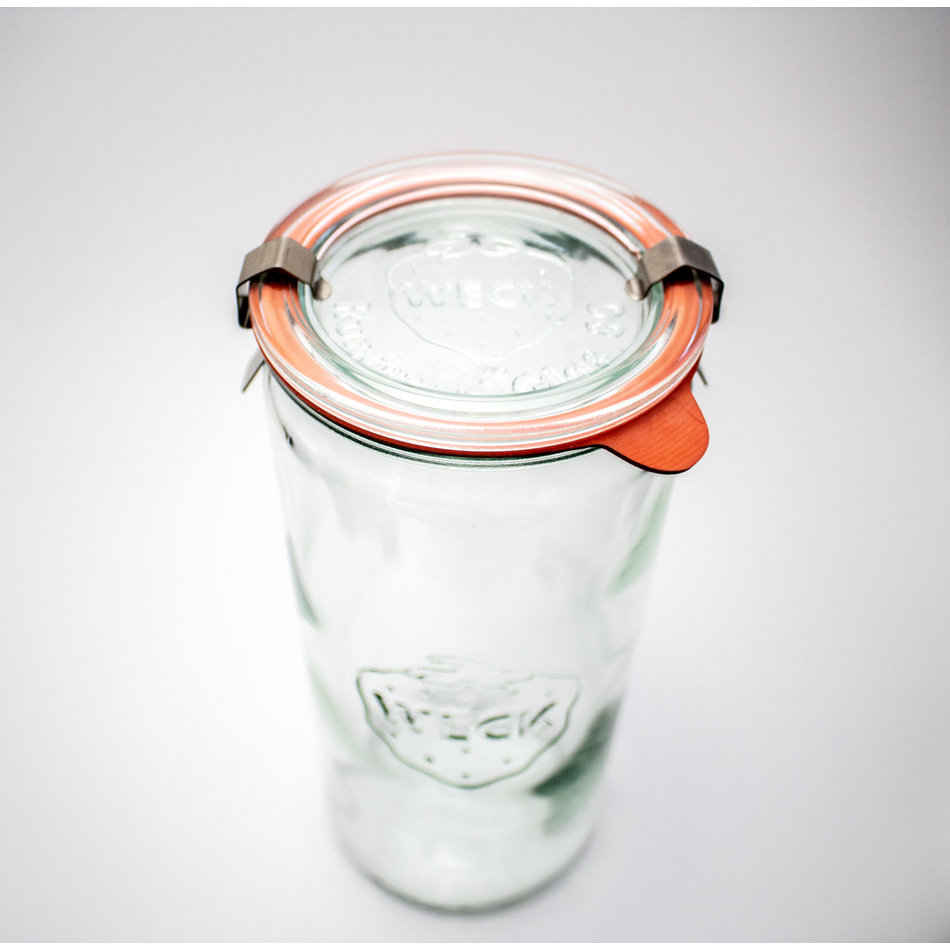 WECK WECK Cylindrical Jar, 1040ml