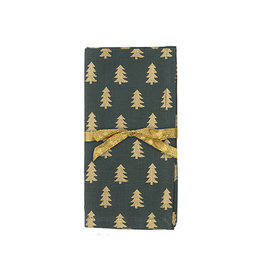 Golden Tree Napkin Set of 4, Forest