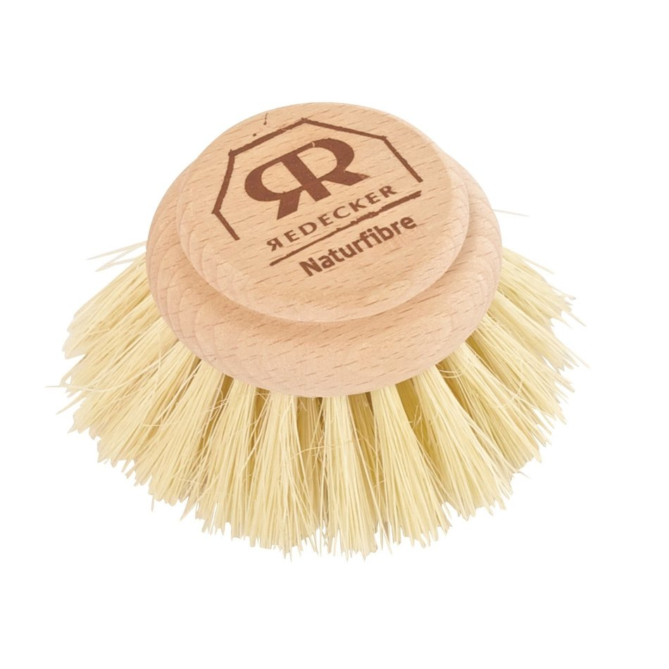 """Redecker Dish Brush Replacement Head, Natural 5cm/2"""""""