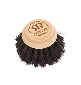 "Redecker Dish Brush Replacement Head, Black 5cm/2"""