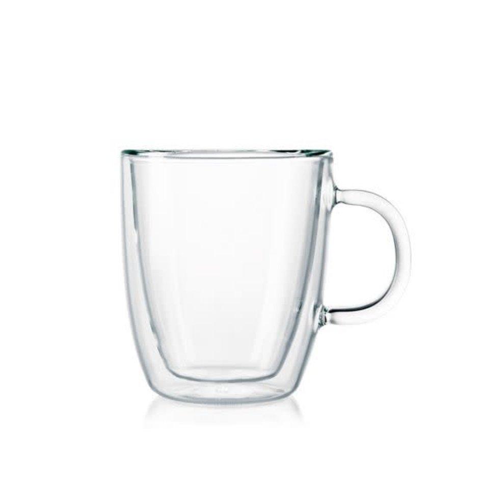 Bodum Bodum Bistro Mug with Handle, 10oz, Set of 2