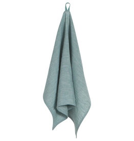 Heirloom Linen Tea Towel, Lagoon