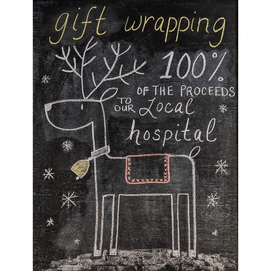 Gift Wrapping Service - Donation to Hospital