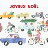 Holiday Card, Christmas Traffic