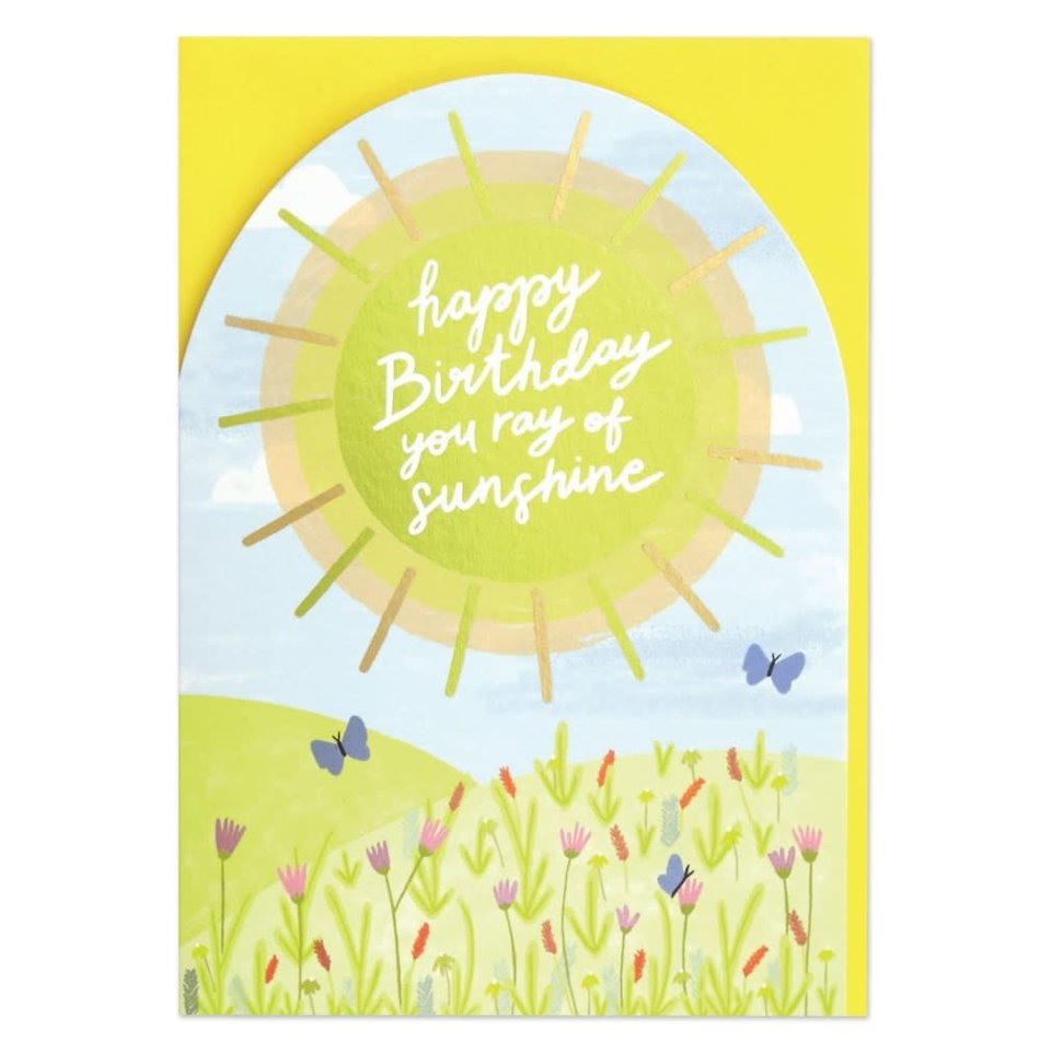 Card, A Very Happy Birthday  to You