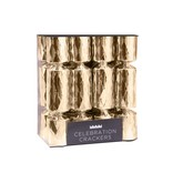 Mini Gold Celebration Christmas Crackers