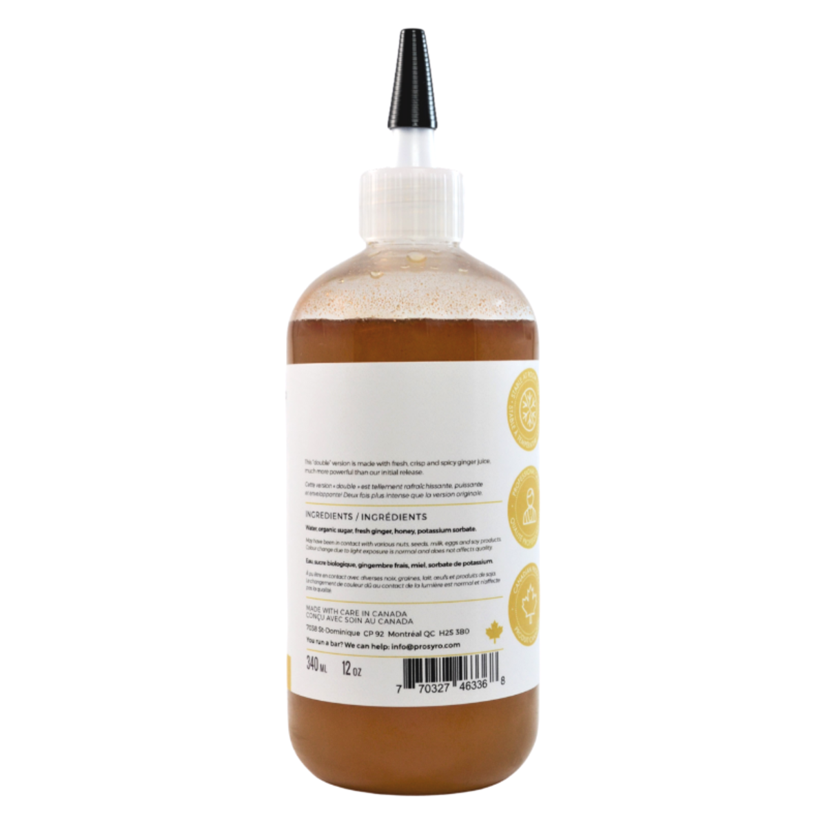 Prosyro Double Ginger Syrup