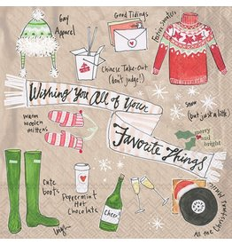 Favorite Things Cocktail Napkins