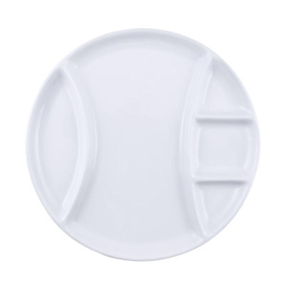Swissmar Raclette/Fondue Round Porcelain Plates