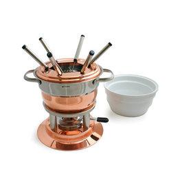 Swissmar Lausanne 11pc Copper Fondue Set