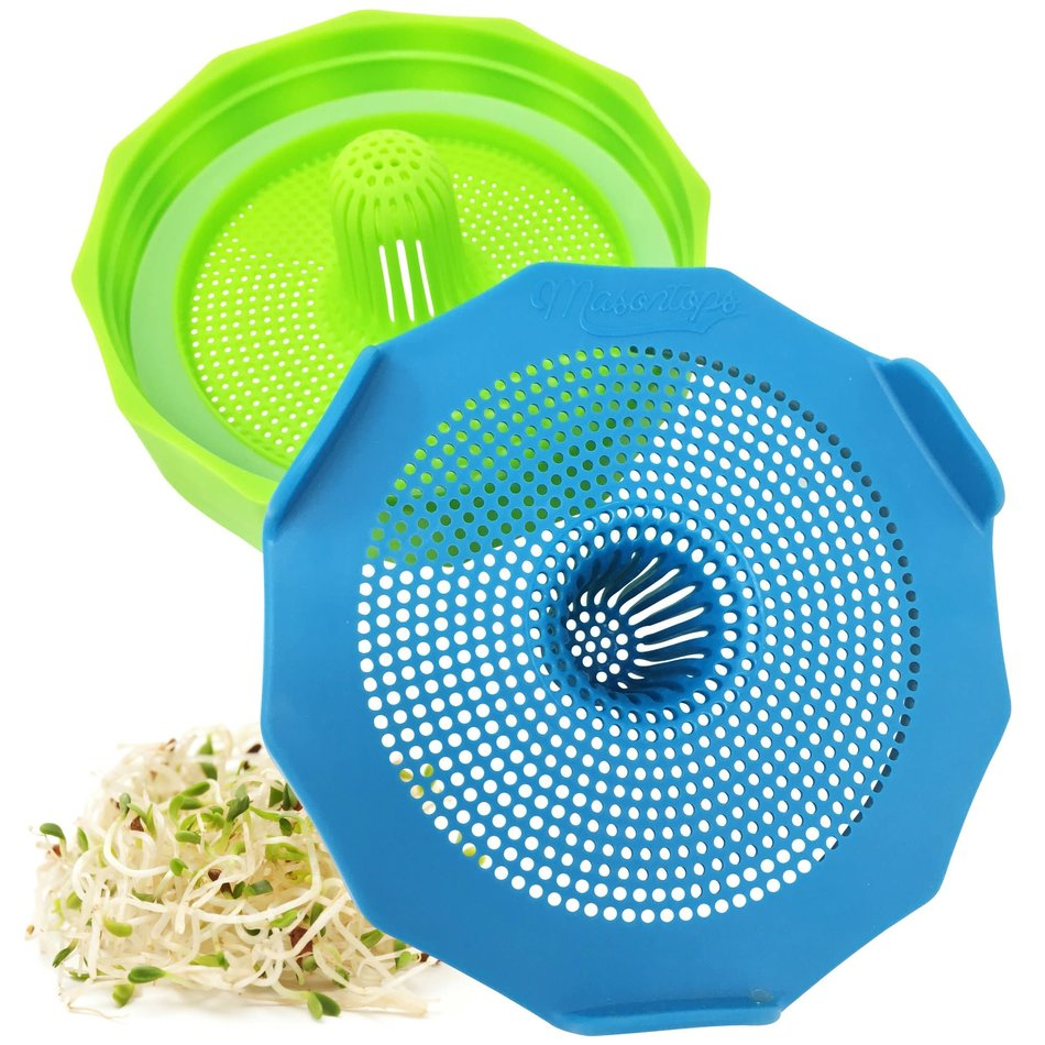 Masontops, Bean Screens Sprouting Lids, 2-Pack