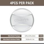 Masontops Masontops, Wide Mouth Pickle Pebbles, 4-Pack