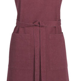 Heirloom Stonewash Apron, Wine