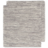 Heirloom Knit Dishcloth, Set of 2, Shadow