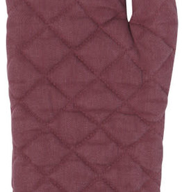 Heirloom Stonewash Oven Mitt, Wine
