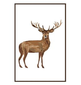 Flour Sack Kitchen Towel, Deer