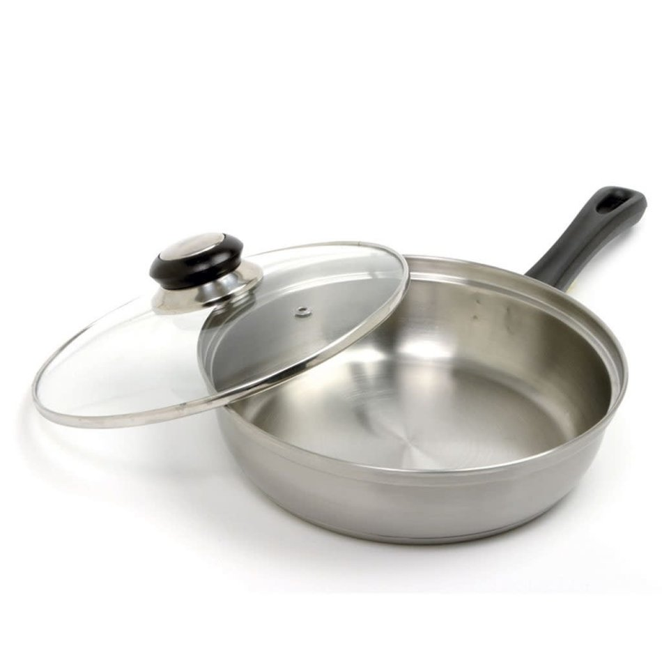 Norpro Norpro Stainless Steel 4 Egg Poacher with Lid