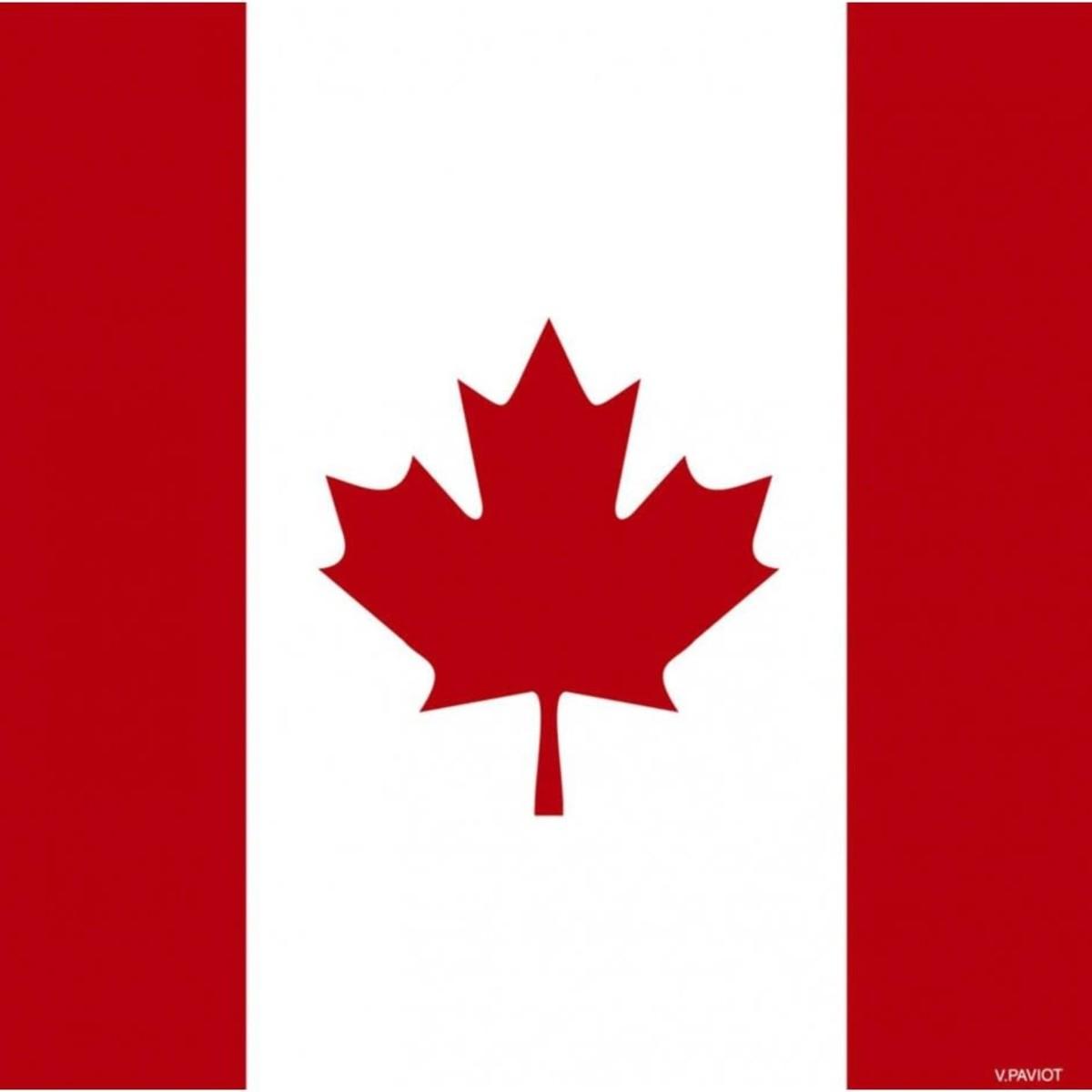 Paviot Cocktail, Canadian Flag