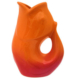 Gurglepot, Large, Ombre Red
