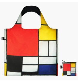 LOQI LOQI Totebag, Piet Mondrian Composition