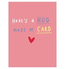 Card, Hug Made of Card