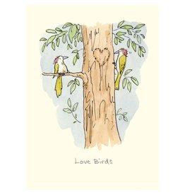 Card, Love Birds