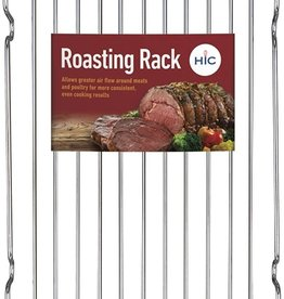 "Broiler Rack, Chrome Plated Steel, 12.5""x7.5"""
